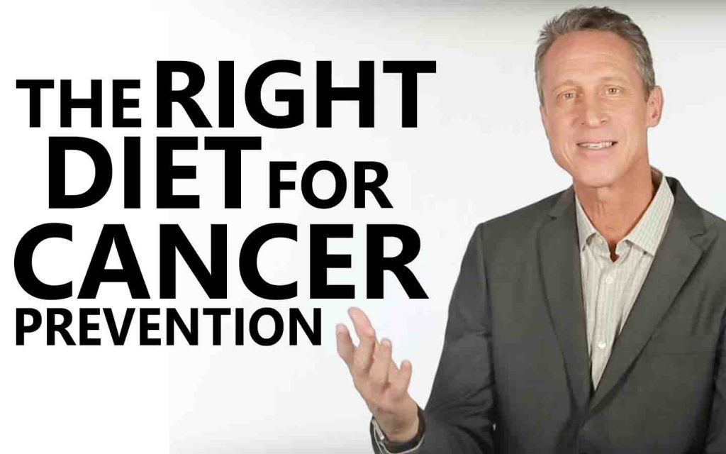 The Right Diet for Cancer Prevention